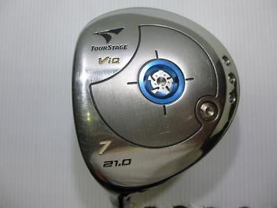 BRIDGESTONE Tour Stage V-iQ 2006 7W Left-Handed R-Flex Fairway Wood Golf