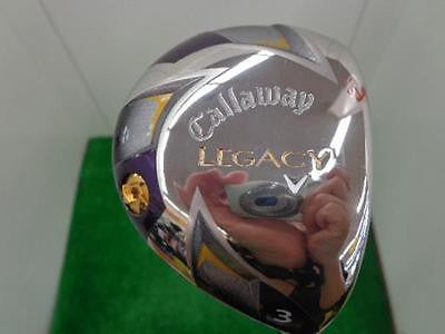 CALLAWAY LEGACY 2012 3W Loft-15 S-flex Fairway wood Golf Clubs
