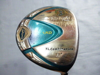 SEIKO S-YARD Exelight  2008 3W Loft-15 R-flex Fairway wood Golf Clubs