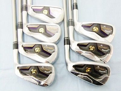2012 CALLAWAY Legacy 7pc 4-p SR-flex IRONS SET Golf Clubs