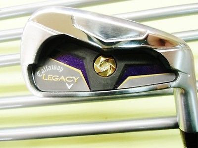 2012 CALLAWAY Legacy 6pc R-flex IRONS SET Golf Clubs