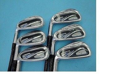 MIZUNO JPX 800 Lefty Left-handed 6pc R-flex IRONS SET Golf Clubs NEW!