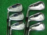 Left-handed Bridgestone Tour Stage X-Blade CB 6pc S-flex IRONS SET Golf Clubs