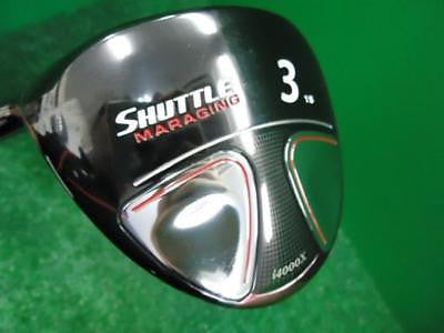 MARUMAN Shuttle i4000x left-handed 3W Loft-15 S-flex Fairway wood Golf Clubs
