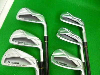 KATANA GOLF VOLTiO Forged 2013 6pc R-flex IRONS SET Golf Clubs MINT