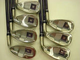 DAIWA globeride ONOFF 2012 Ladies Womens 7pc L-flex IRONS SET Golf Clubs NEW!