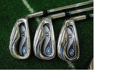 KASCO D-MAX AR 2012 6pc R-flex IRONS SET Golf Clubs Excellent