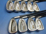 HONMA Twin Marks TF-201 9pc R-flex CAVITY BACK IRONS SET Golf Clubs beres