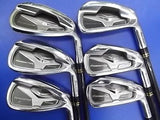 MARUMAN Conductor LX MARAGING 2011 6pc R-flex IRONS SET Golf Clubs Excellent