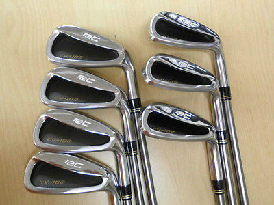RC ROYAL COLLECTION CV-102 7pc S-flex IRONS SET Golf Clubs Excellent