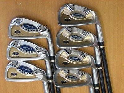 HONMA BERES IC-01 2star 7pc R-flex IRONS SET Golf Clubs Excellent