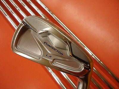 MARUMAN Conductor LX  FORGED 2011 7pc R-flex IRONS SET Golf Clubs Excellent