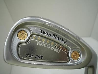 HONMA Twin Marks TM-202 10pc R-flex CAVITY BACK IRONS SET Golf Clubs Excellent