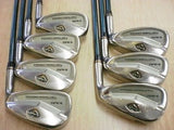 SEIKO S-YARD Exelight 2008 7pc R-flex IRONS SET Golf Clubs