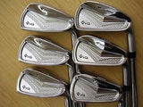 Bridgestone Tour Stage V-iQ Forged 2012 6pc S-flex IRONS SET Excellent  Golf