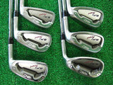 RC ROYAL COLLECTION BBD'S SFI Forged 6pc S-flex IRONS SET Golf Clubs Excellent