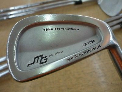 MIURA CB-1006 Forged 7pc R-Flex IRONS SET Golf Clubs Excellent