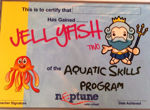 Jellyfish Certificate and Badge