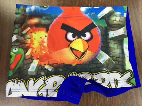 Angry Birds Swim Shorts Swimming Costume