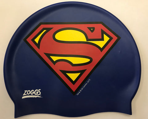 DC Superman swim cap