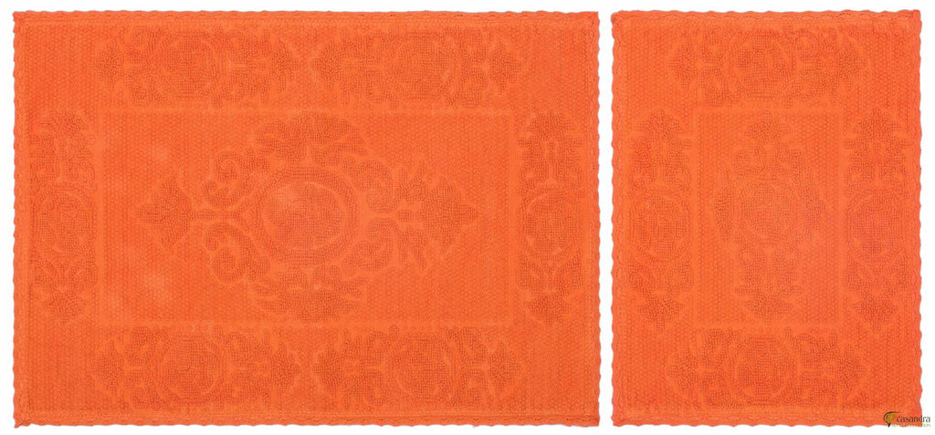 Casandra Floral Orange Paspas