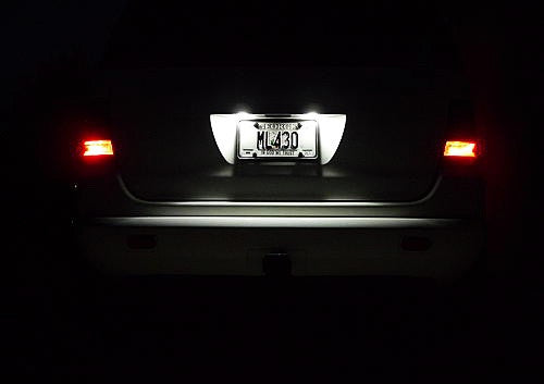 LED License Number Plate Light Lamp Bulb Mercedes Benz W176 X166 W166 C292 R172