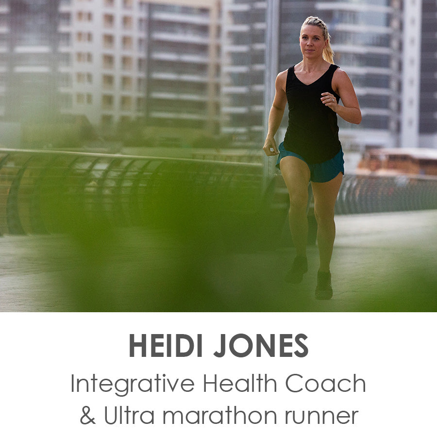 HEIDI JONES - Integrative Health Coach & Ultra marathon runner