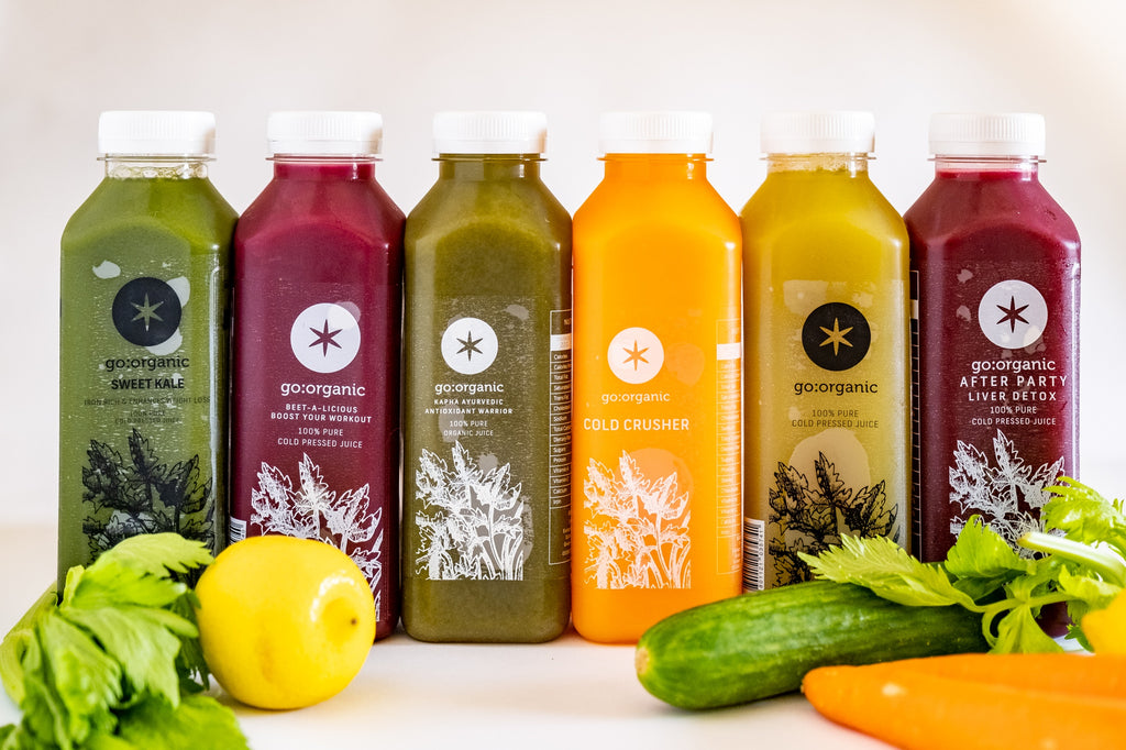 7 Days  Immune boosting Juice Cleanse