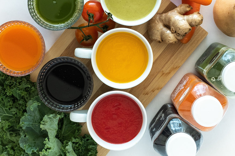 3 Days Low Sugar Warming Weight loss Soup and Juice Cleanse