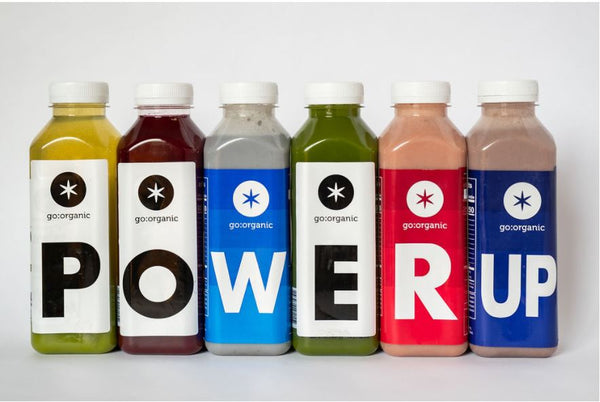 5 Days Power Up Cleanse for Athletes, Over 60 grams of Plant protein each day.