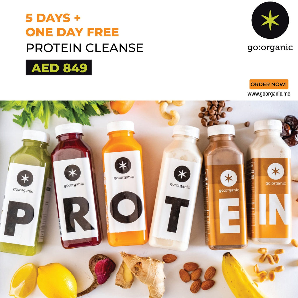 Protein Cleanse for Athletes - 5 Days + ONE DAY FREE.