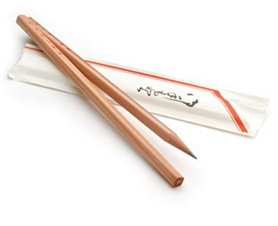 Chopsticks Pencil Set Waribashi Pencils (2 Pencil Pack) - The Japan Shop