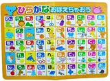 Large Japanese Hiragana Bath Poster for Kids