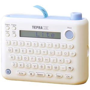 TEPRA Lite, LR5E English Edition Washi Tape Label Printer