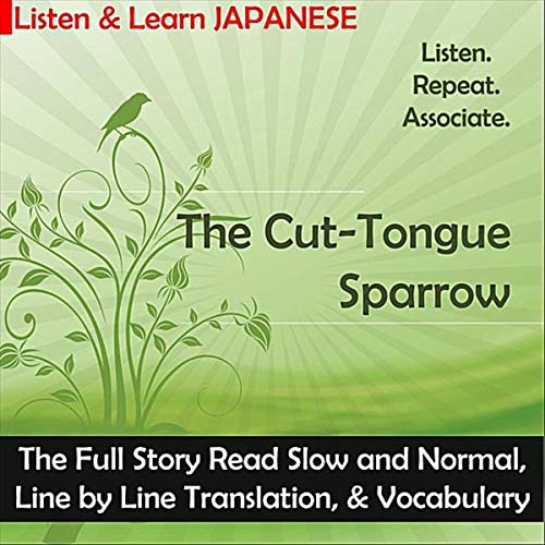 Learn Japanese Through Audio Stories Shitakiri Suzume (Includes PDF + MP3s) - The Japan Shop