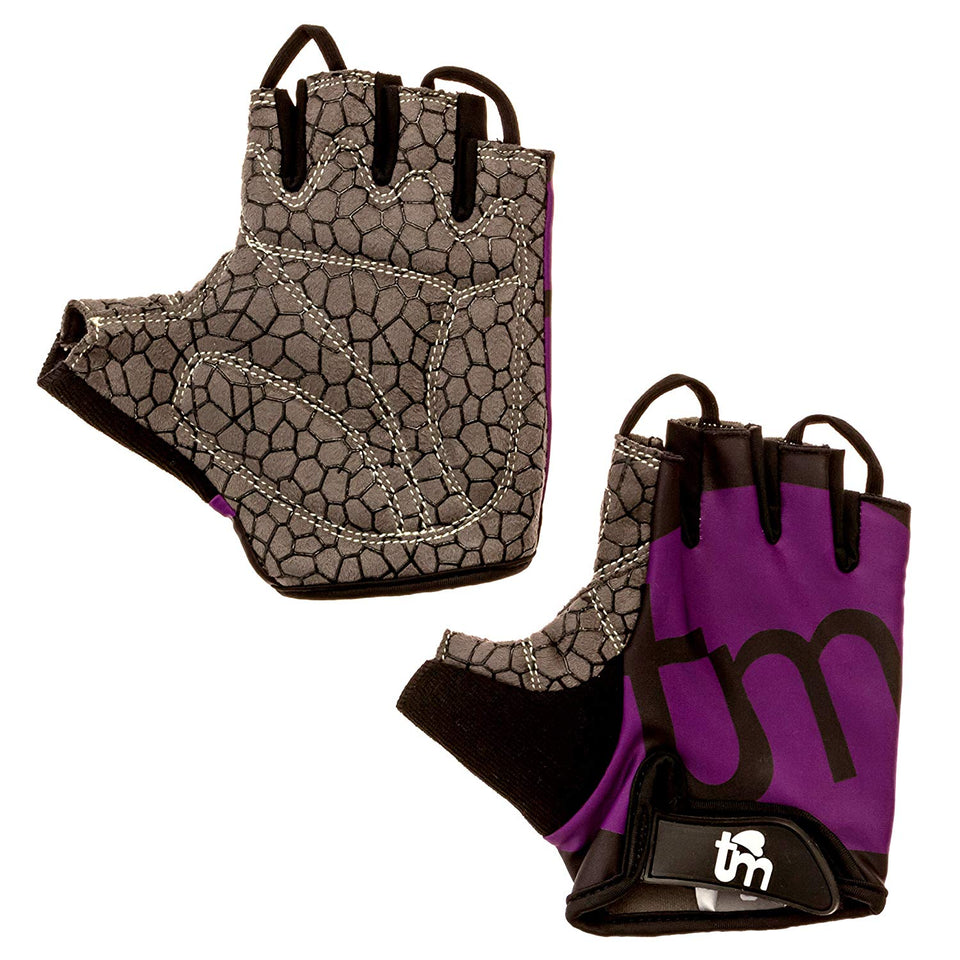 Touch of Megumi Women's Gym Gloves for Workout, Crossfit, Biking, Weight Training, Cycling, Powerlifting, and all-around Exercise [1 Pair] - The Japan Shop