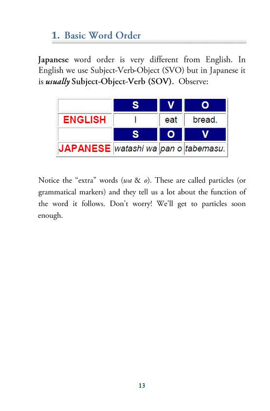 Japanese Grammar 100 in Plain English [Digital Download] - The Japan Shop