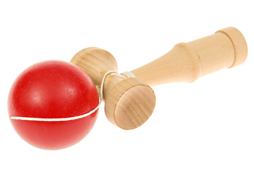 The Japan Shop Full-Sized Kendama Wooden Traditional Japanese Toy