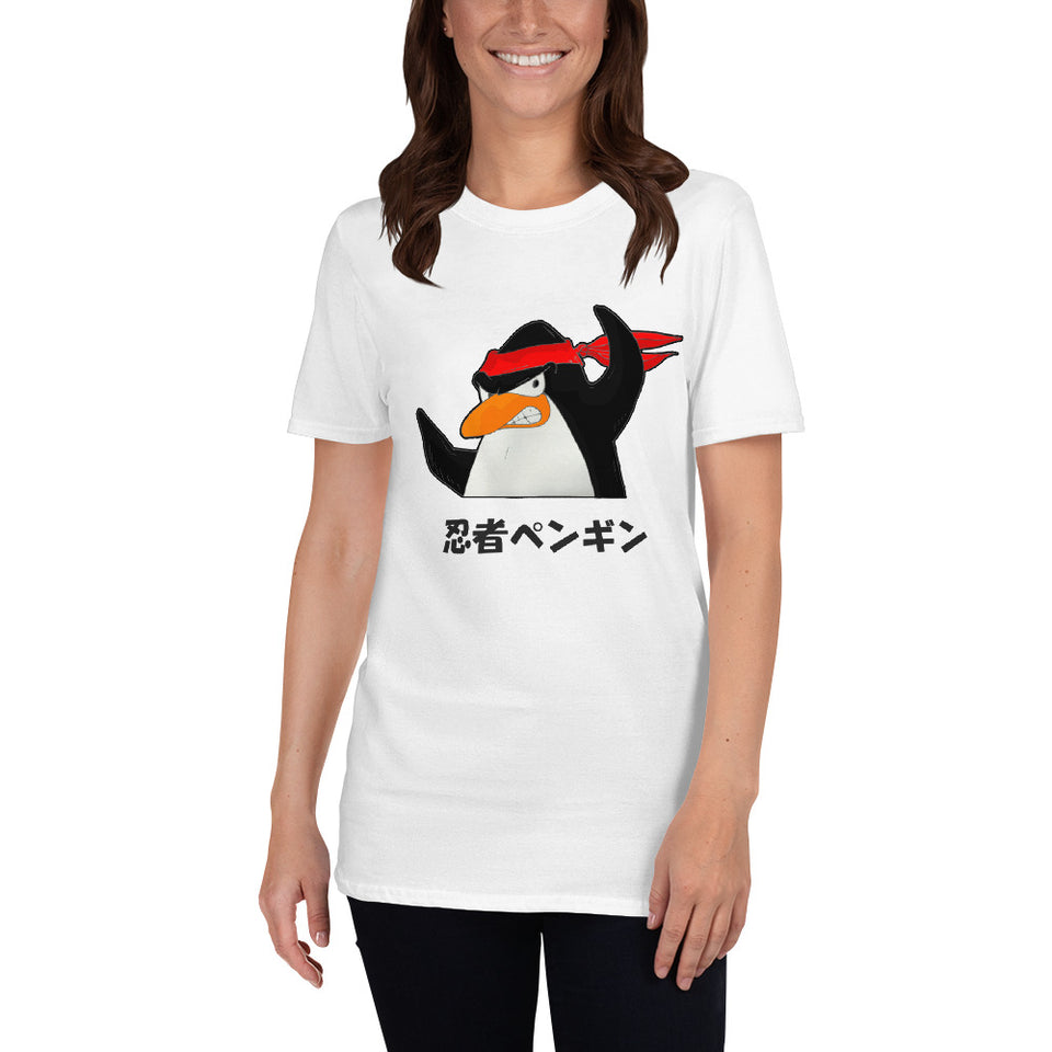 Ninja Penguin Short-Sleeve Unisex T-Shirt - The Japan Shop