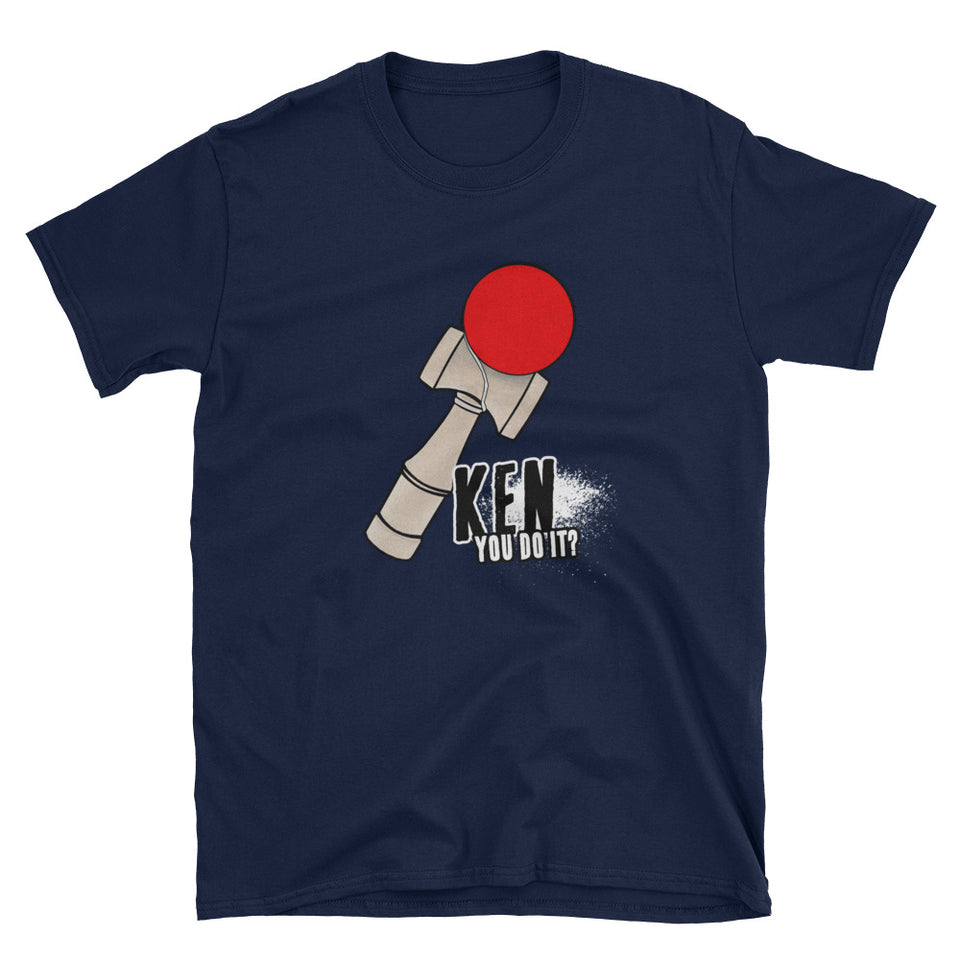 Kendama Japanese Ball and Cup Short-Sleeve Unisex T-Shirt - The Japan Shop