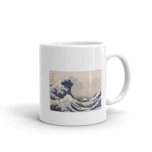 Great Wave off Kanagawa Japan with Mt. Fuji by Hokusai Mug