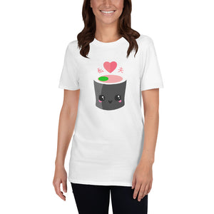I Love My Husband in Japanese Short-Sleeve Unisex T-Shirt - The Japan Shop