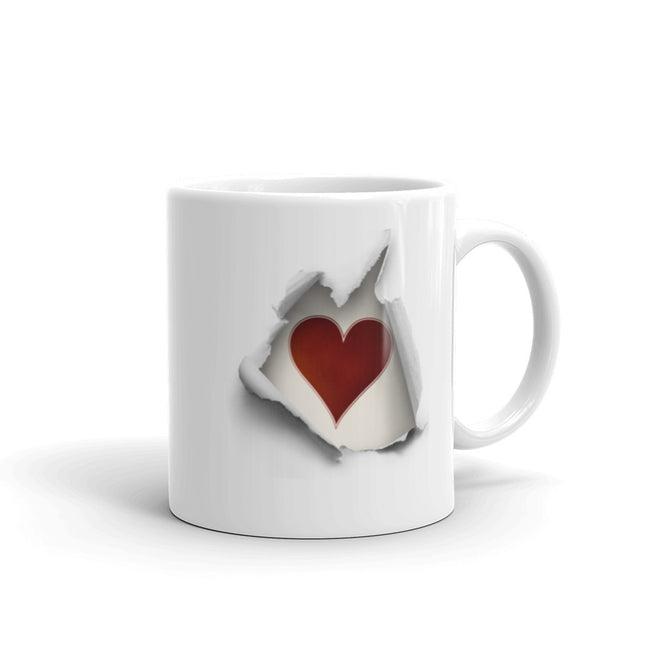 Heart Breaking Out Mug - The Japan Shop
