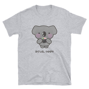 OSushi, Ikaga? Kawaii Koala Offers Japanese Sushi Short-Sleeve Unisex T-Shirt - The Japan Shop