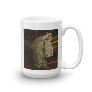 Girl in a Japanese Kimono by George Hendrik Breitner, 1894 Mug - The Japan Shop