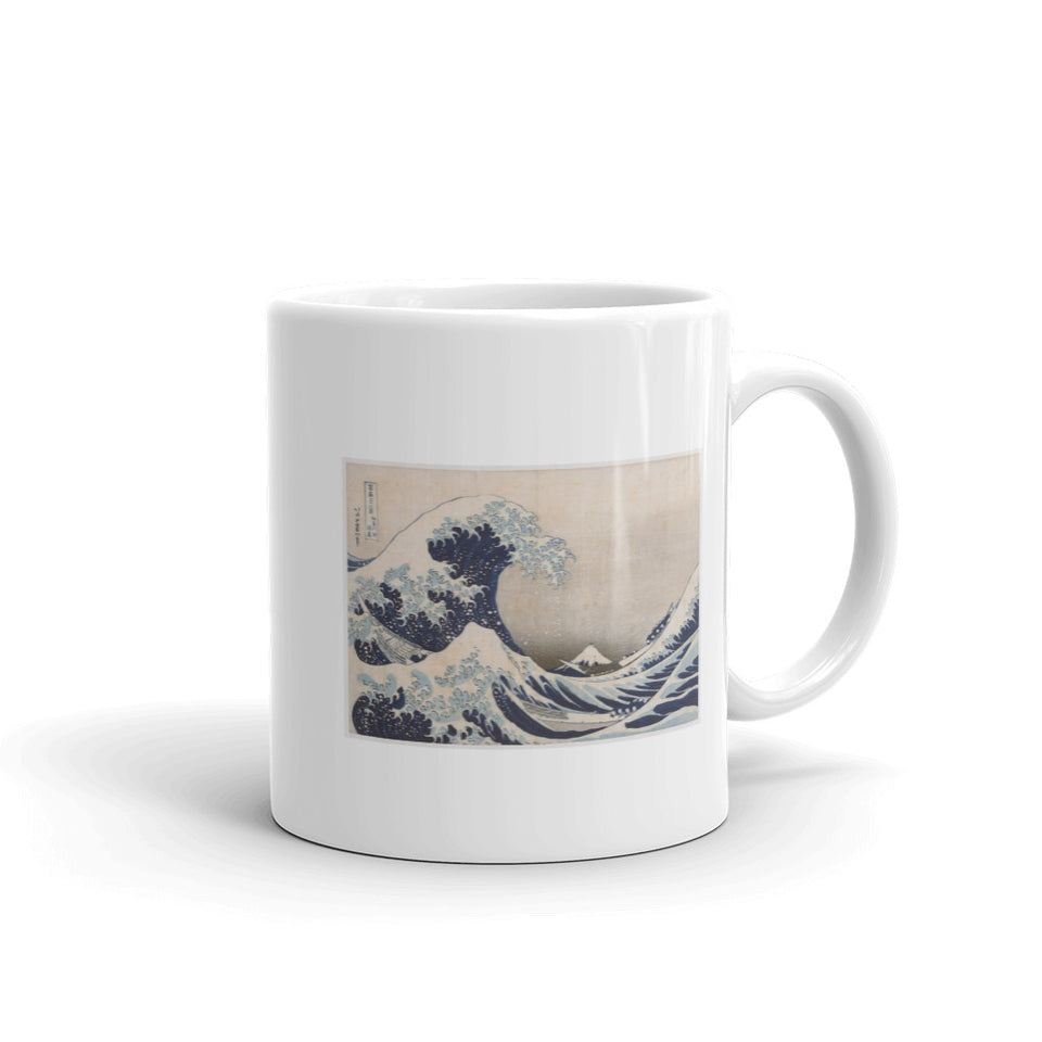 Great Wave off Kanagawa Japan with Mt. Fuji by Hokusai Mug - The Japan Shop