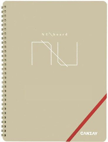 The Use-Anywhere Whiteboard Notebook -NuBOARD NOTEBOOK North America Edition - The Japan Shop
