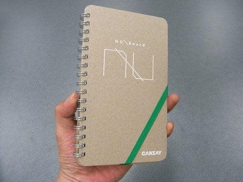 The Use-Anywhere Whiteboard Notebook -NuBOARD MEMO North America Edition