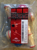 The Japan Shop Pocket Kendama Wooden Mini Traditional Japanese Toy 2 Pack Set