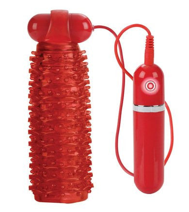 10-Function Adonis Vibrating Stokers - Red